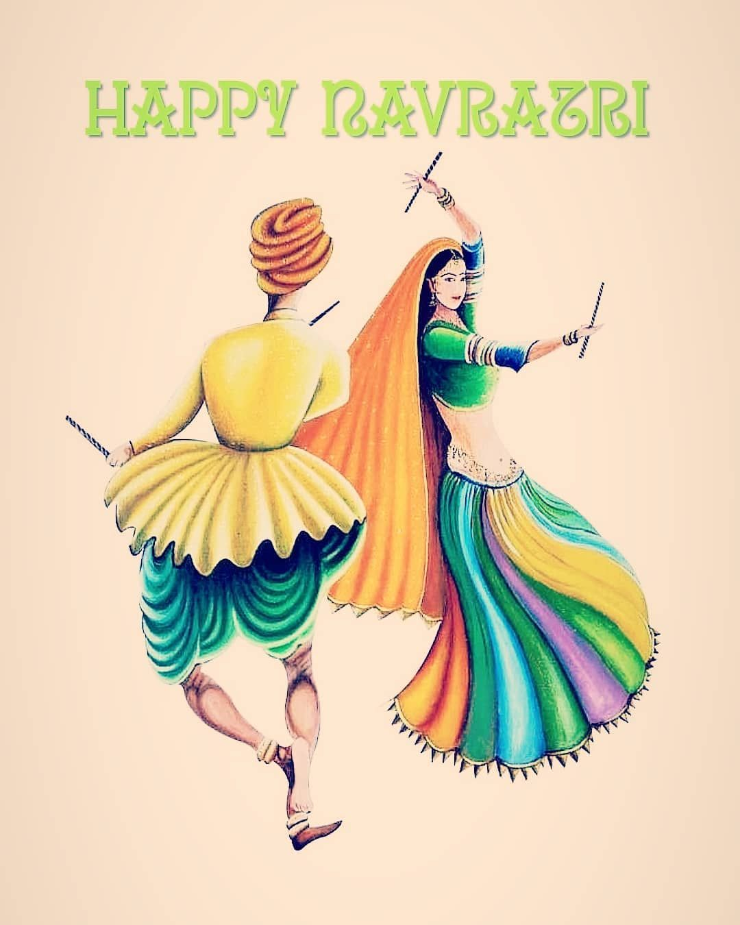 Hey Guys!! Enjoy the Festive Sunday✌️ May the brightness of Navratri fill our days with delight and happiness! May all good things happen to us this Navratri! Wishing everyone a Happy Navratri!✨