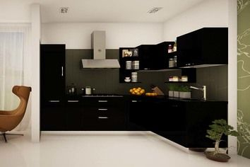 Papyrus Lshaped Modular Kitchen  Home  Pinterest  Kitchen Extraordinary Modular Kitchen L Shape Design Design Ideas