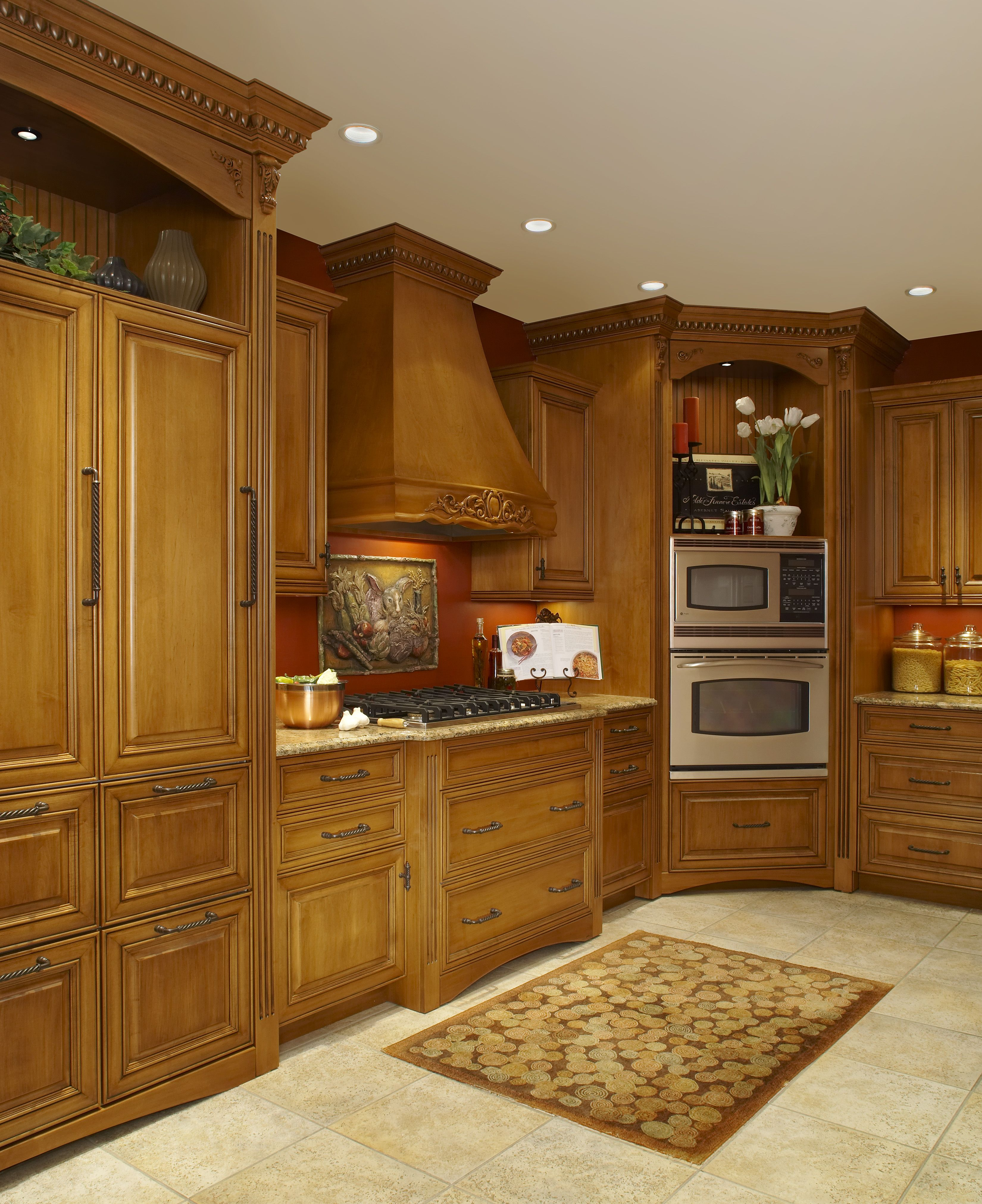 Nice Wooded Custom Cabinets Done By LaFata Located In Michigan! #LaFata # Cabinets #