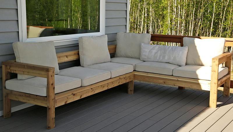 Tuin Hoekbank Lounge : Tuin hoekbank met lounge kussens onze tuin sofa