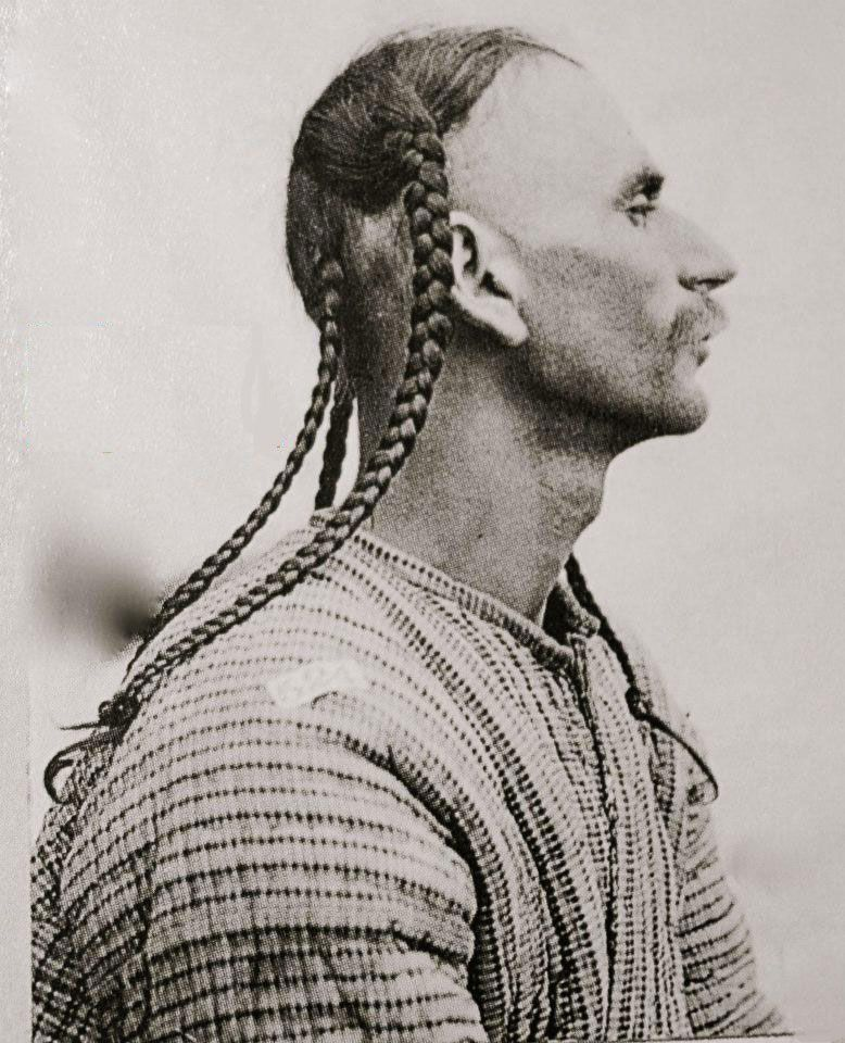 Pin By Yasa Hasanpour On History Of Kurdestan: Yazidi Man With Plaited Hair. Northern Iraq, Ca. 1920
