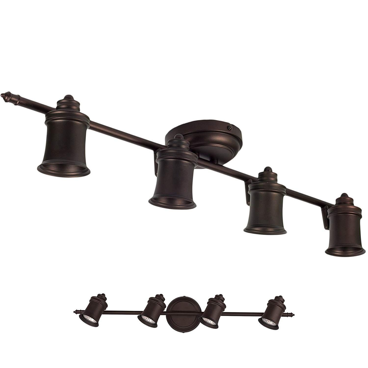Best Rustic Track Lighting Fixtures For Sale We Love Farmhouse Track Lighting And Indust In 2020 Track Lighting Fixtures Track Lighting Kitchen Ceiling Mount Fixtures