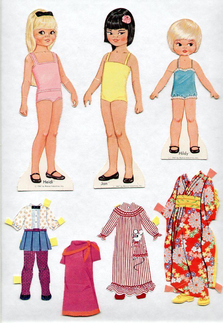 бумажные большие куклы с одеждой фото выберешь