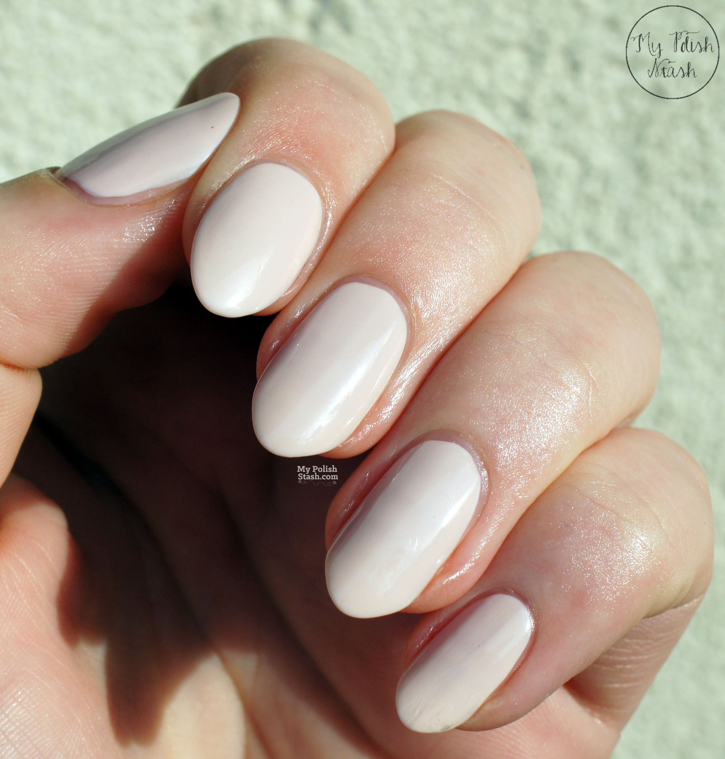 Job Interview Nails: Nails Inc x VVB - Bamboo White | Nail Ideas ...