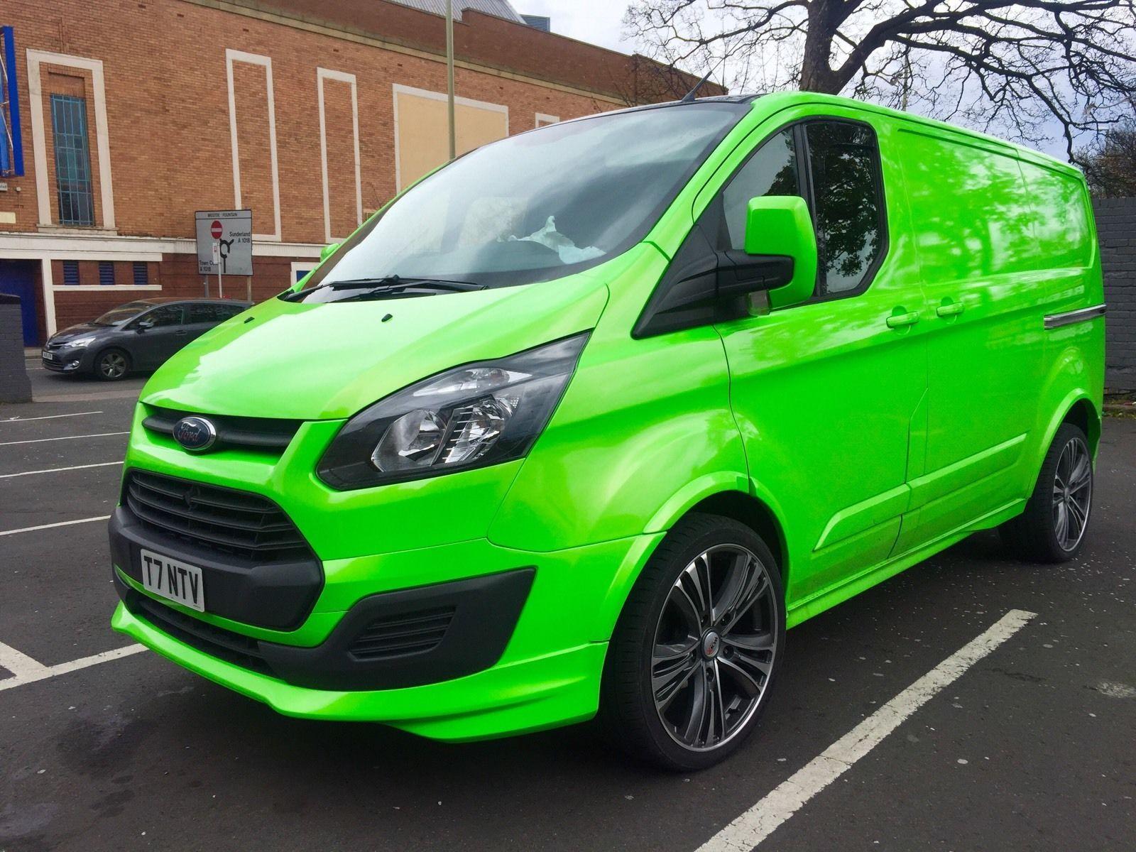 Ford Transit Custom Sport Look No Vat Transporter