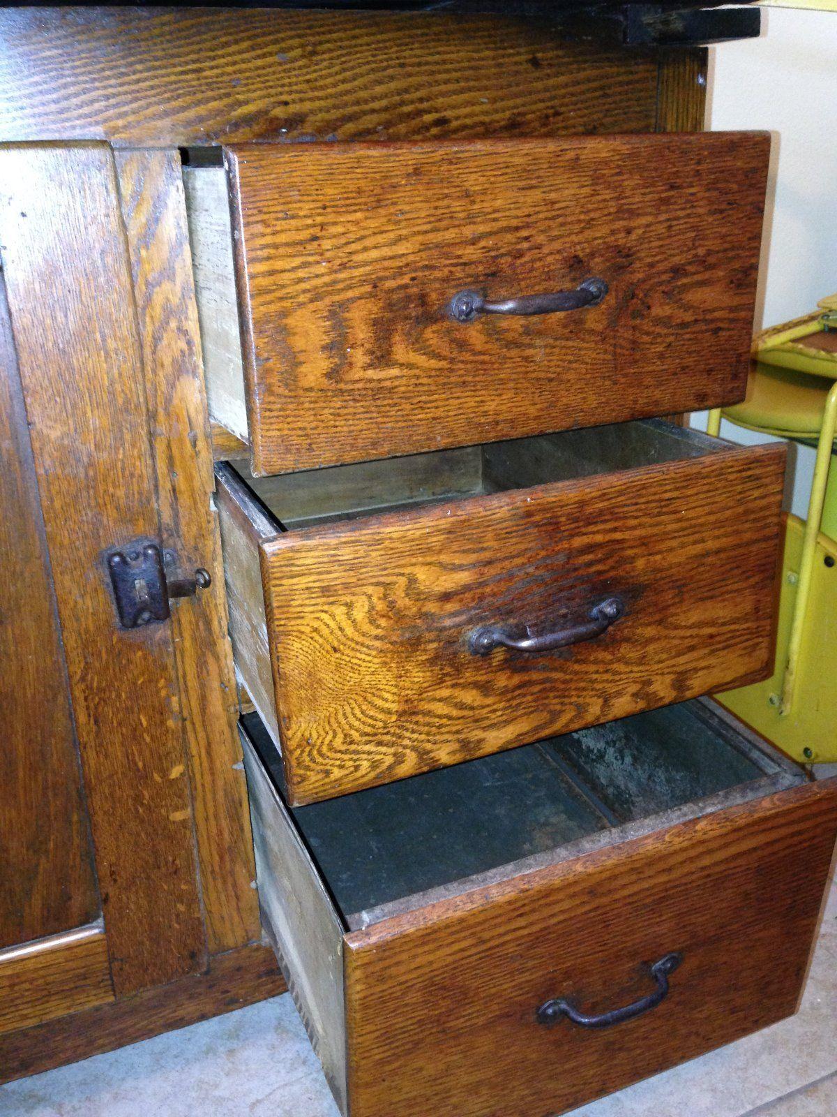 Best Details About Beautiful Old Antique 1910 Hoosier Kitchen 400 x 300