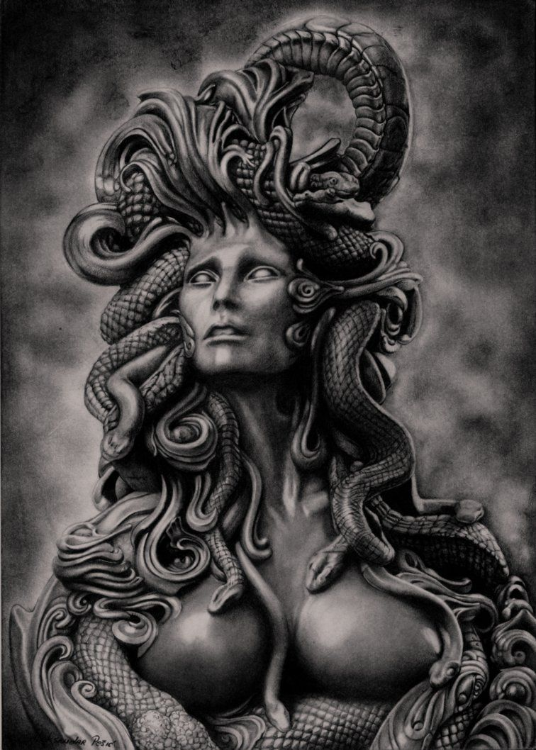 Sexy medusa tattoo