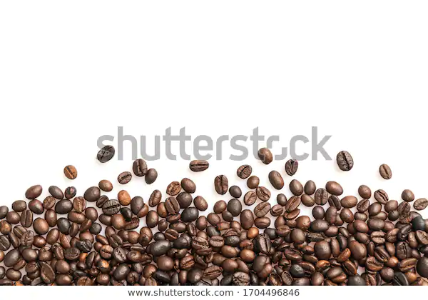 Coffee Beans Isolated On White Background Stock Photo Edit Now 1704496846 White Background Coffee Beans Stock Photos