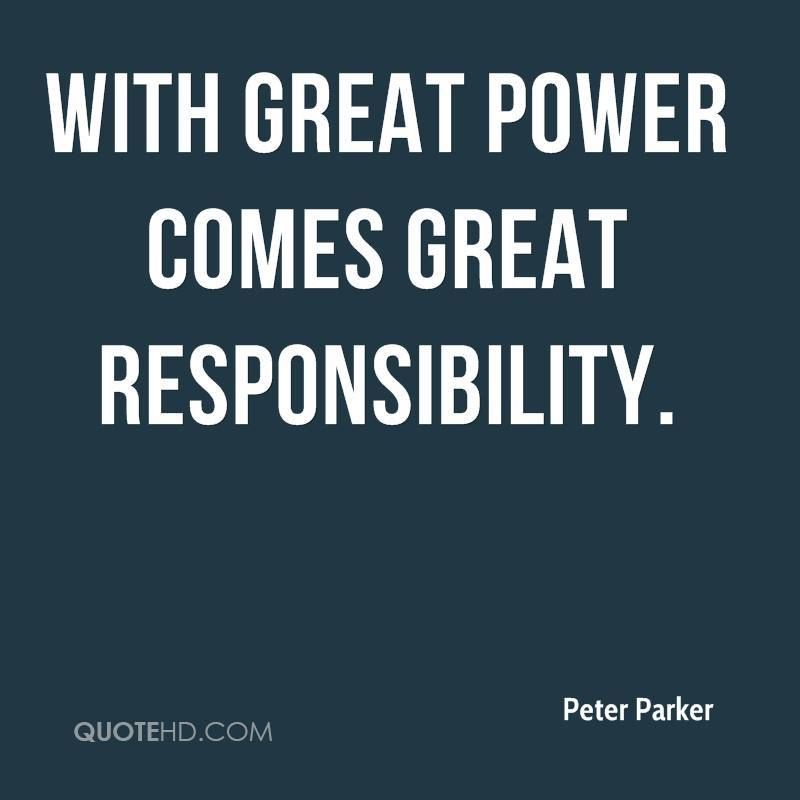 Peter Parker Quotes Quotehd Responsibility Quotes Image Quotes Powerful Quotes