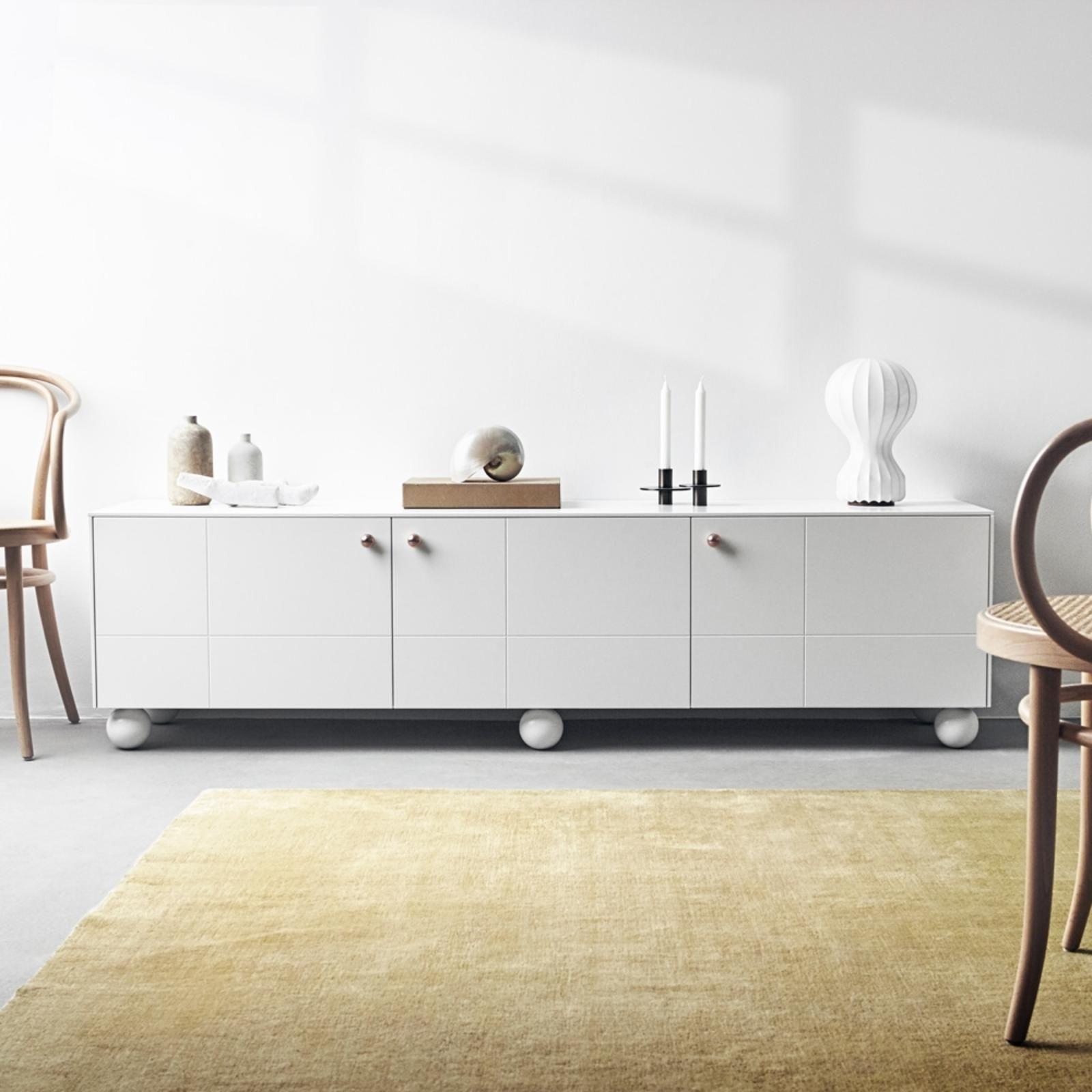 Buffet Golden Super White 180x64 Superfront En 2020 Mobilier De Salon Ikea Armoire Ikea