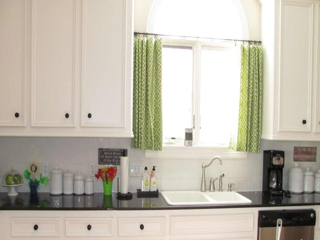 ideas kitchen window curtains simple curtain how decorate bay ...