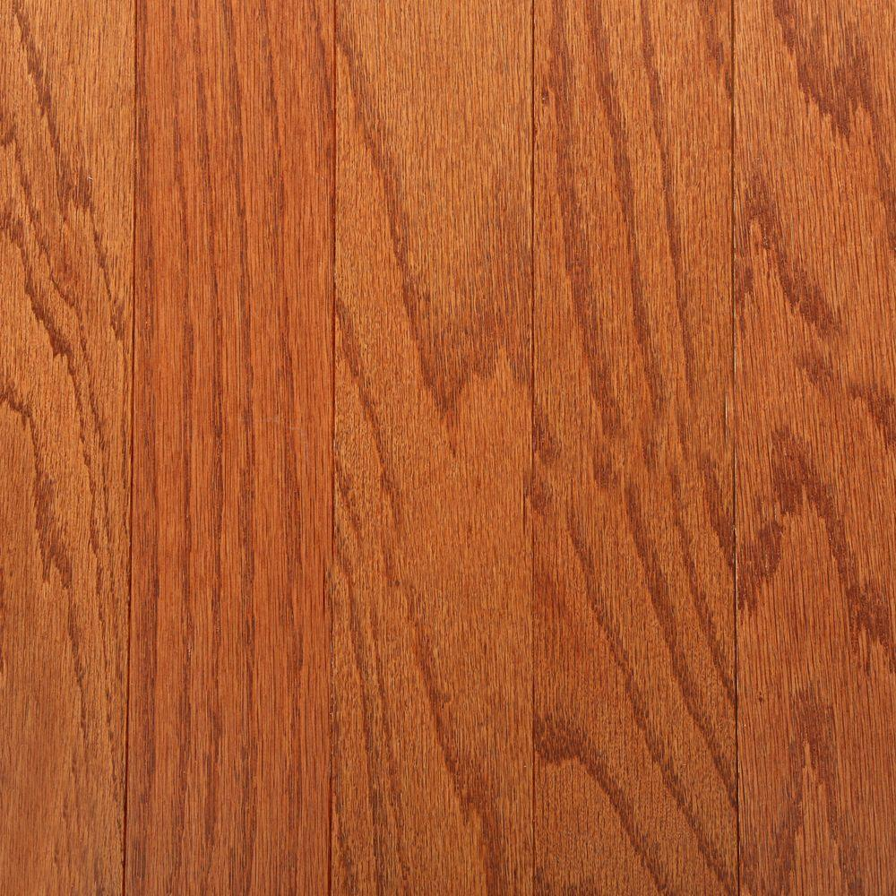 Bruce Oak Gunstock 3 8 In Thick X 3 In Wide X Varying Length Engineered Hardwood Flooring Engineered Wood Floors Engineered Hardwood Flooring Hardwood Floors