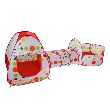 Kids Baby Play Crawl Tunnel Tent Pop Up