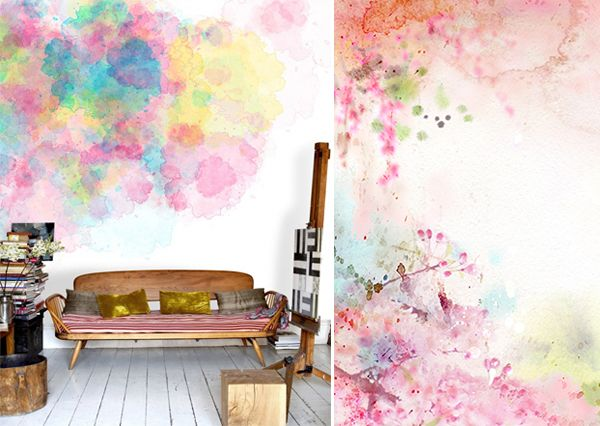 Paint effects on walls without effort and without paint - How to paint murals on bedroom walls ...