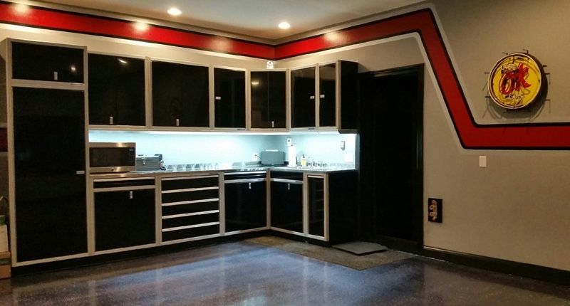 Garage Condo In MN That Features These Moduline Cabinets Downstairs. Garage  Cabinets. Dream Garage. Mancave | Garage Cabinets | Pinterest | Condos,  Garage ...