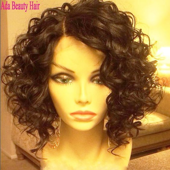pics of curly bobs - Google Search | lockiges Haar | Curly ...