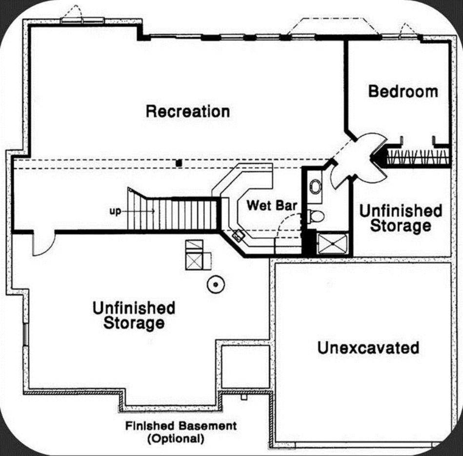 Nice layout Floor plans, Wet bars, Basement