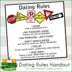 Rules of dating women
