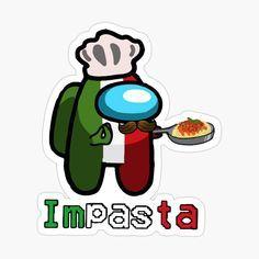 'Among Us Crewmate Impasta - Halloween Italian Cos