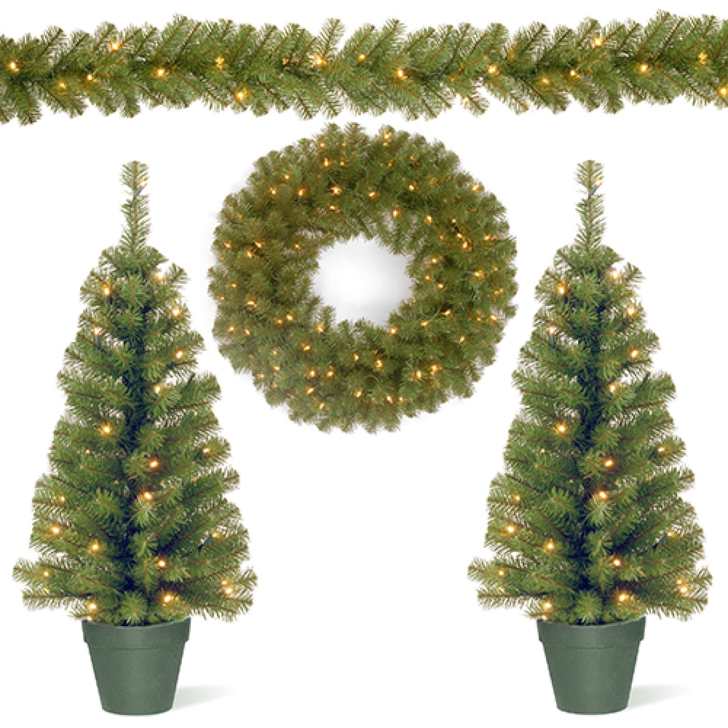 Boscov'S Pre Lit Christmas Trees