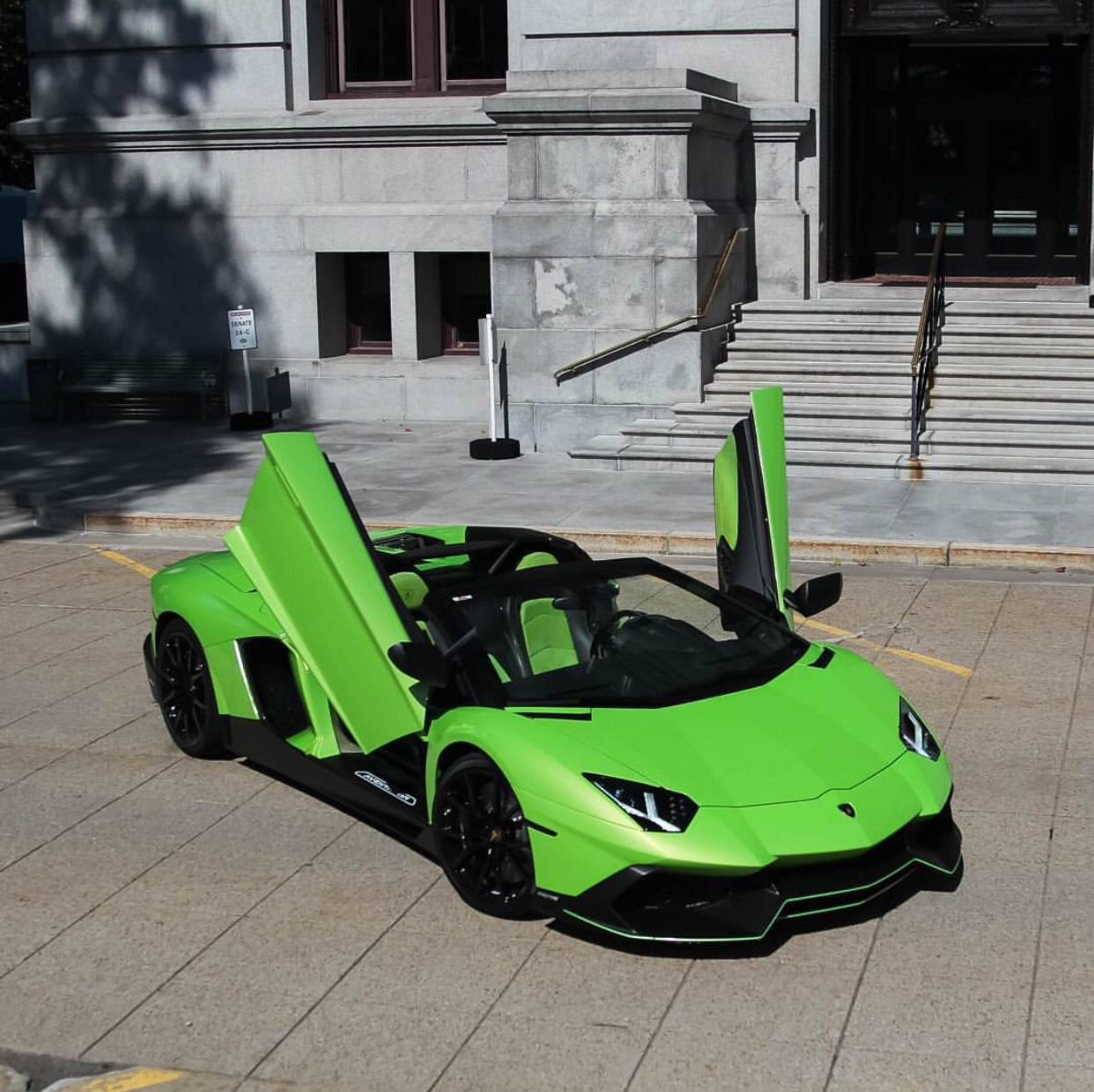 Lamborghini 50 Anniversario Edition Aventador Roadster Painted In