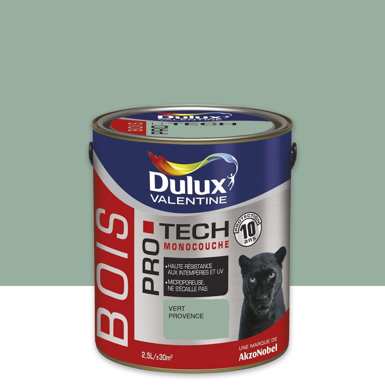 Peinture Bois Extérieur Protech Dulux Valentine Vert