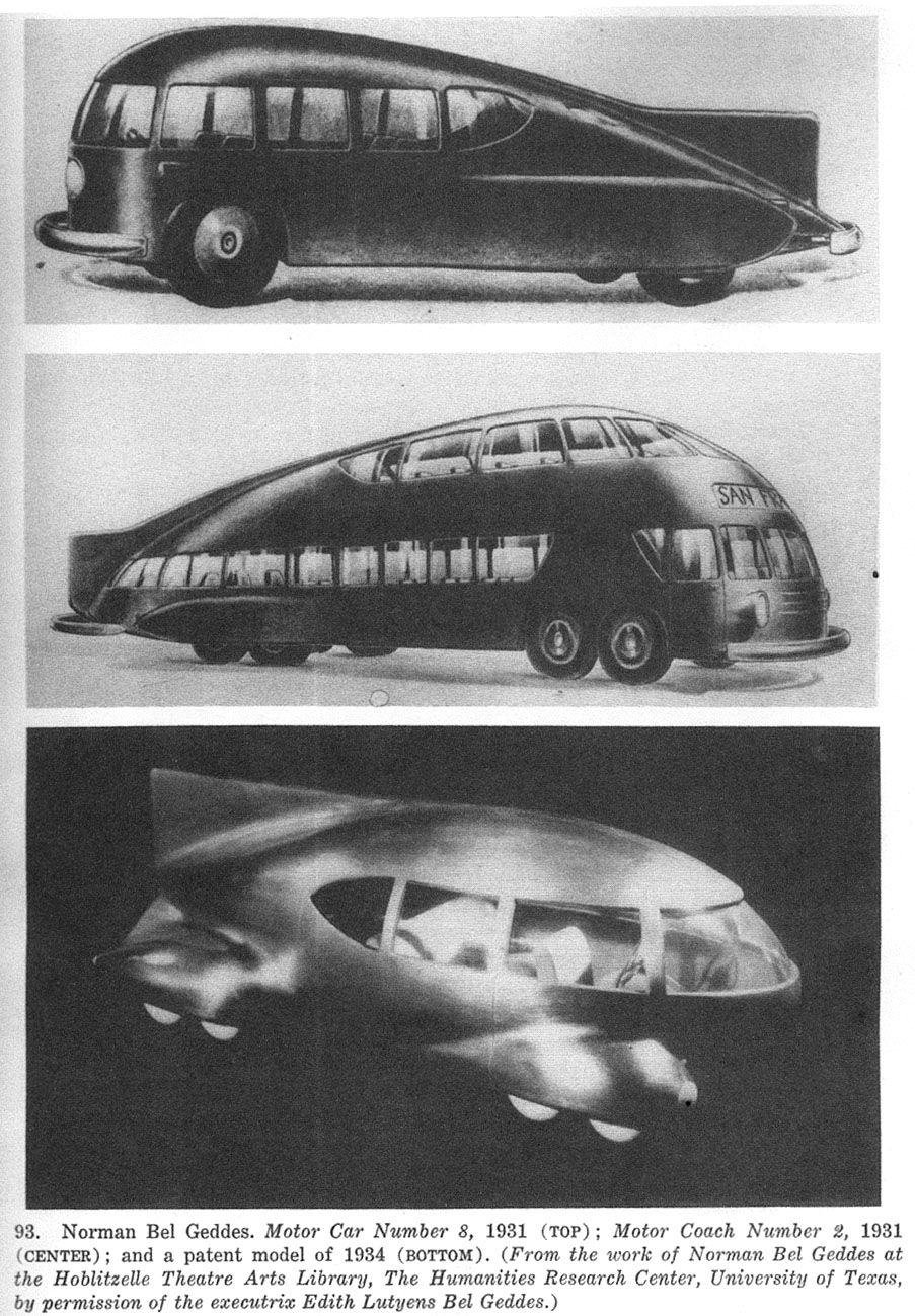 Ausgezeichnet Norman Bel Geddes Car Ideen - Die Designideen für ...