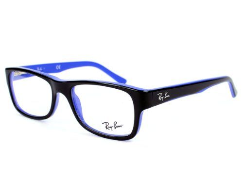 37426a1bde2 Ray-Ban RX5268 Eyeglasses-5179 Black Blue-50mm -