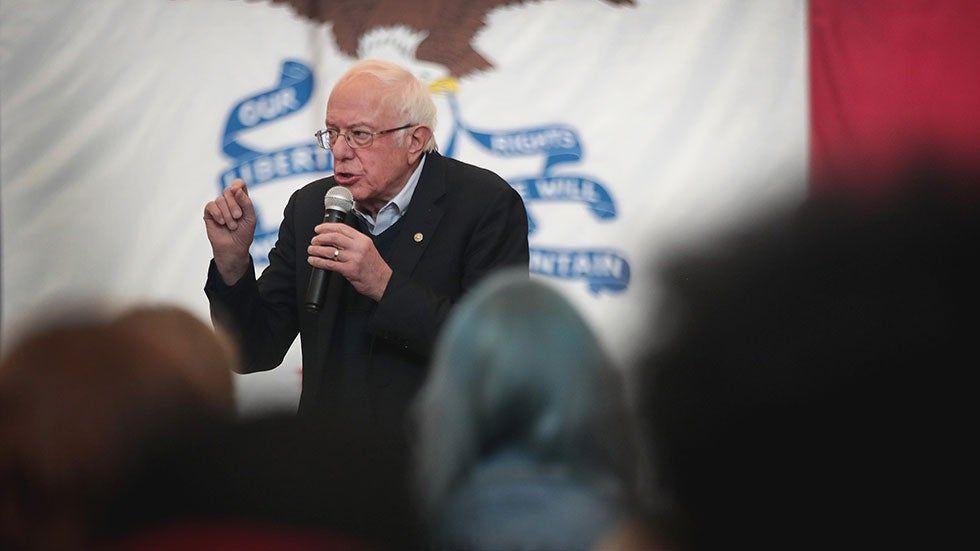 Poll Sanders opens up lead in Iowa in 2020 Voter, Iowa