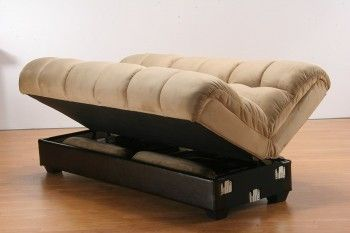 Marvelous Futon Lifts Up To Reveal Hidden Storage Ideas For The Andrewgaddart Wooden Chair Designs For Living Room Andrewgaddartcom