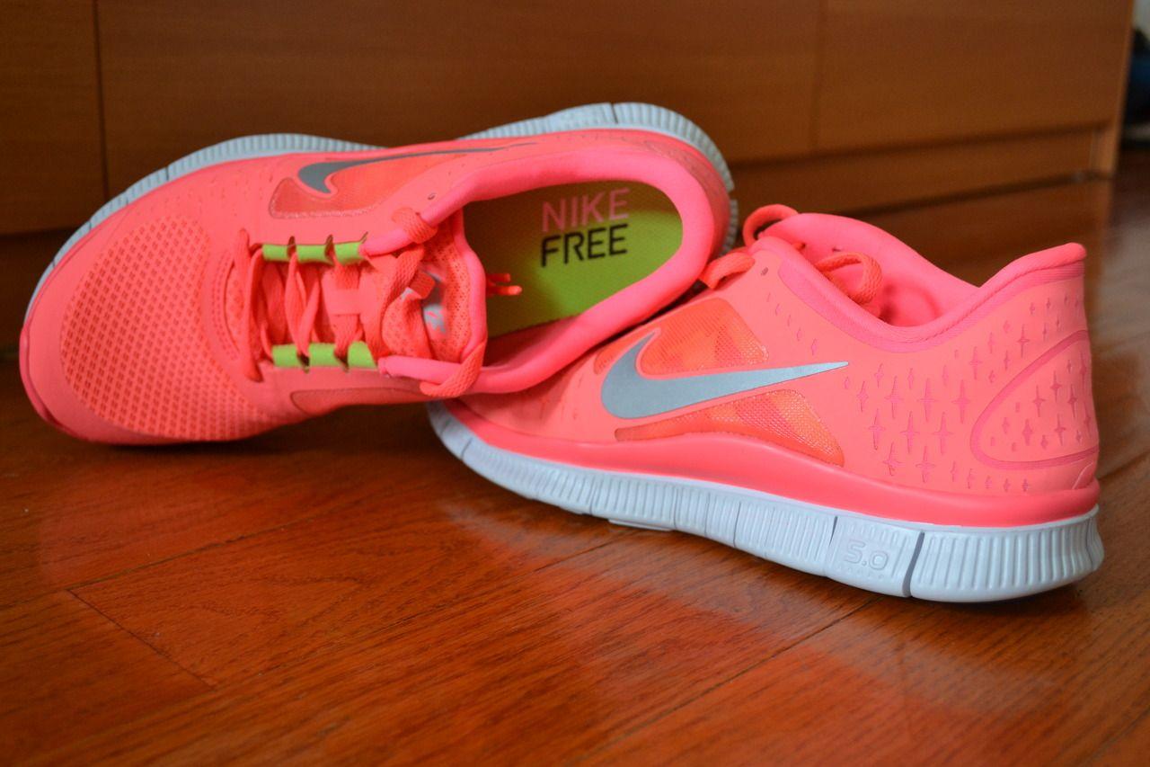 Gray Nike Running Shoes Womens