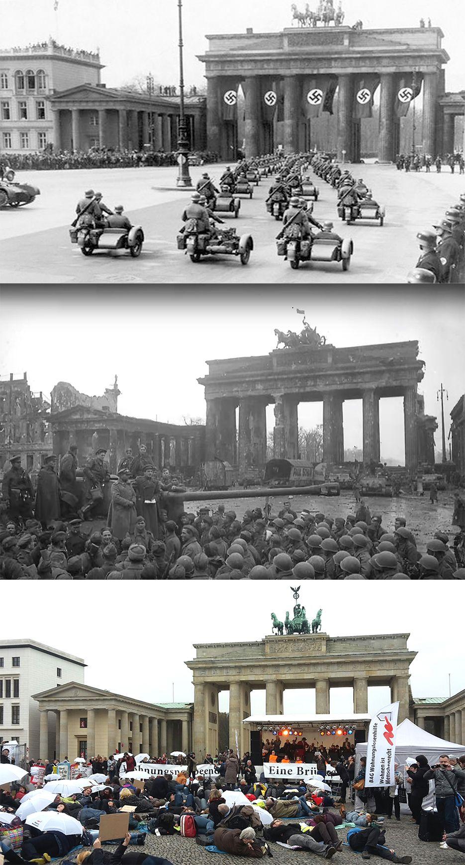 Brandenburger Tor Brandenburg Gate Brandenburg Berlin Geschichte Brandenburger Tor