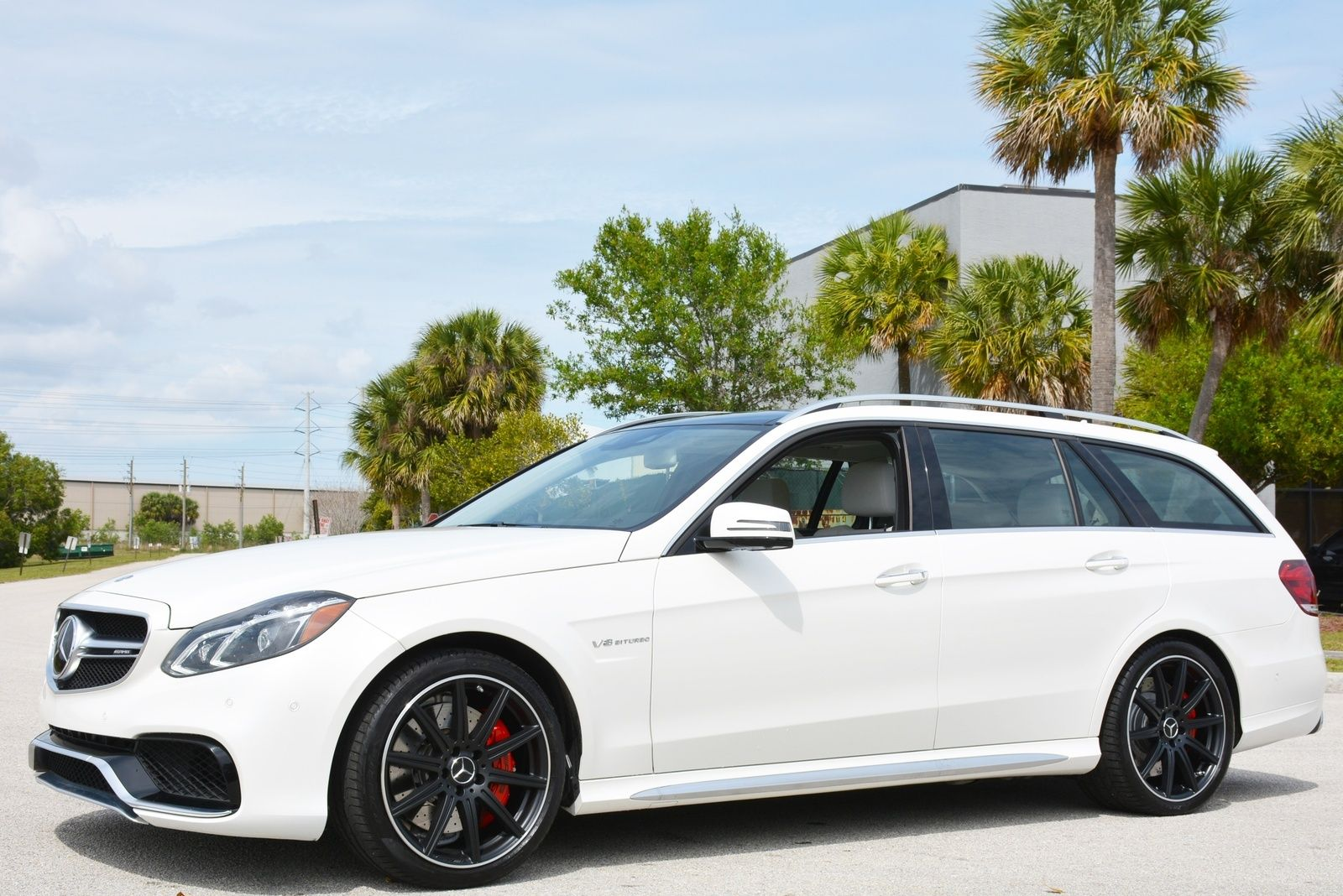 Used 2016 mercedes benz e63 amg s model 4matic wagon wagon for Mercedes benz wpb