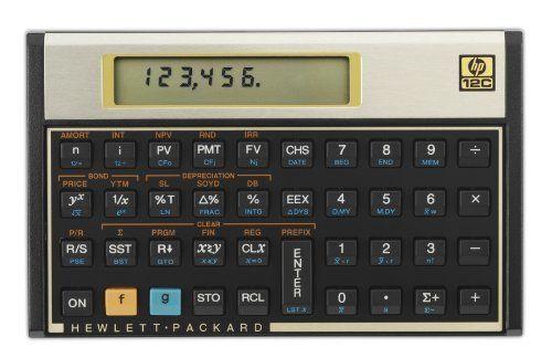 Hp 12c Financial Calculator Http Www Hp Hp12c 12c Financial Calculator Dp B00000jblh Tag Sure9600pn Financial Calculators Calculator Calculators