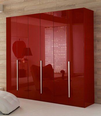 Contemporary High Gloss Lacquered Wardrobe Logico Rl0230 Pensarecasa It Wardrobe Laminate Design Modern Bed Modern Chests