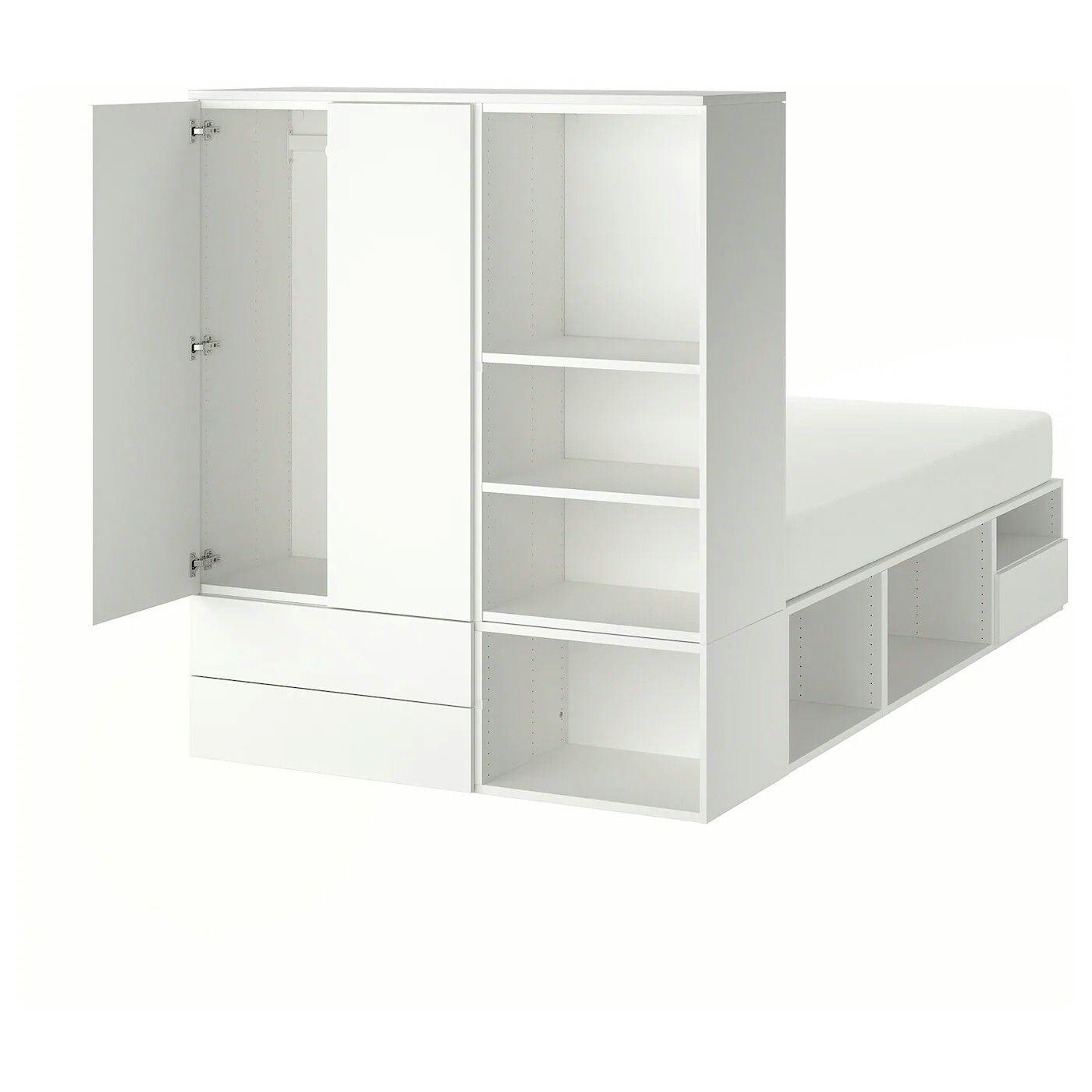 Ikea Platsa Platform Bed 120 140 Cm Width Bettgestell Bett