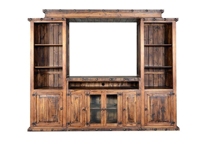 Old West Rustic Entertainment Center Entertainment Centers In 2019