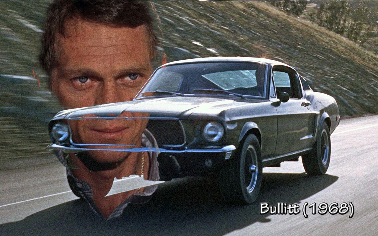 Movies Wallpaper Bullitt 1968 Actor Steve Mcqueen Bullitt Movie Best Muscle Cars