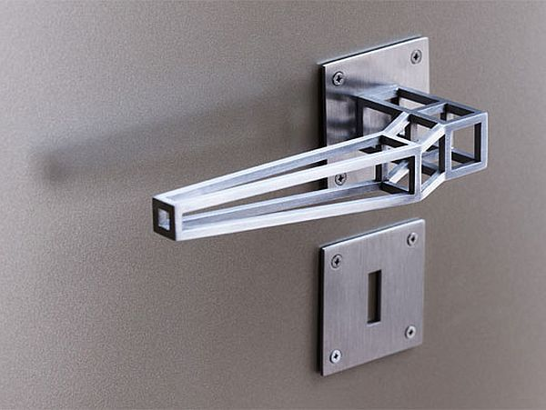 Sleek and stylish Outline Door Handle by the architects associated