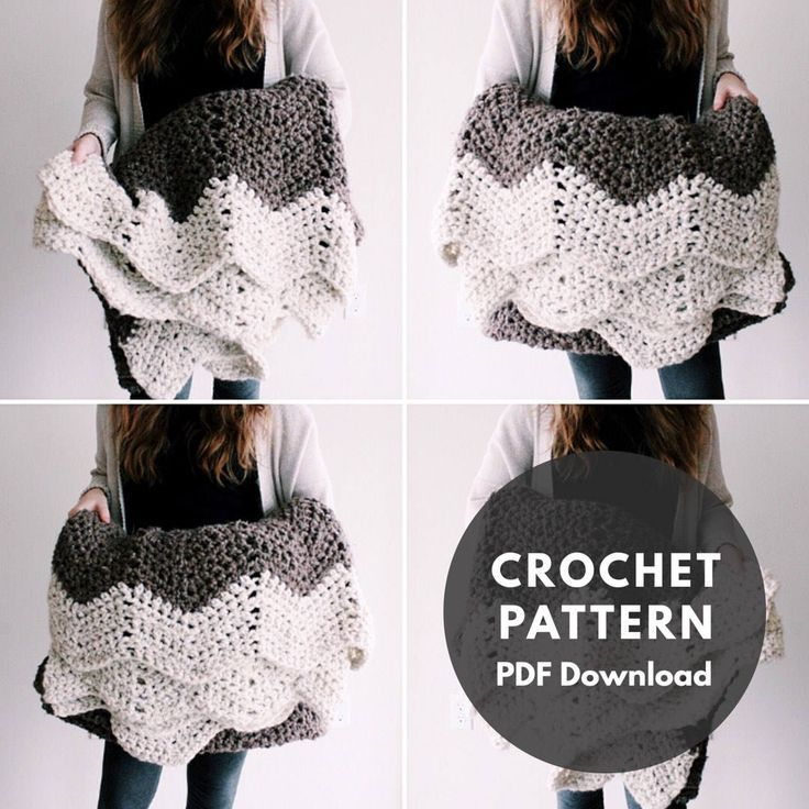 Mountain Top Throw Pattern/blanket/throw/crochet pattern | crochet ...