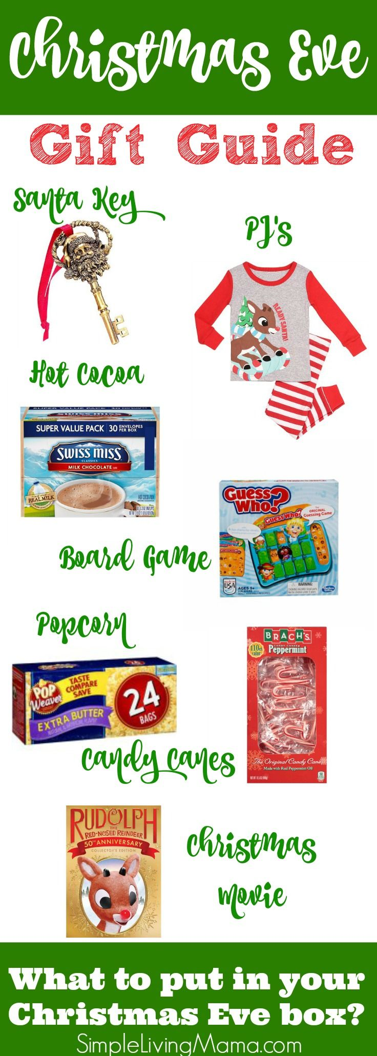 Christmas eve gift game ideas