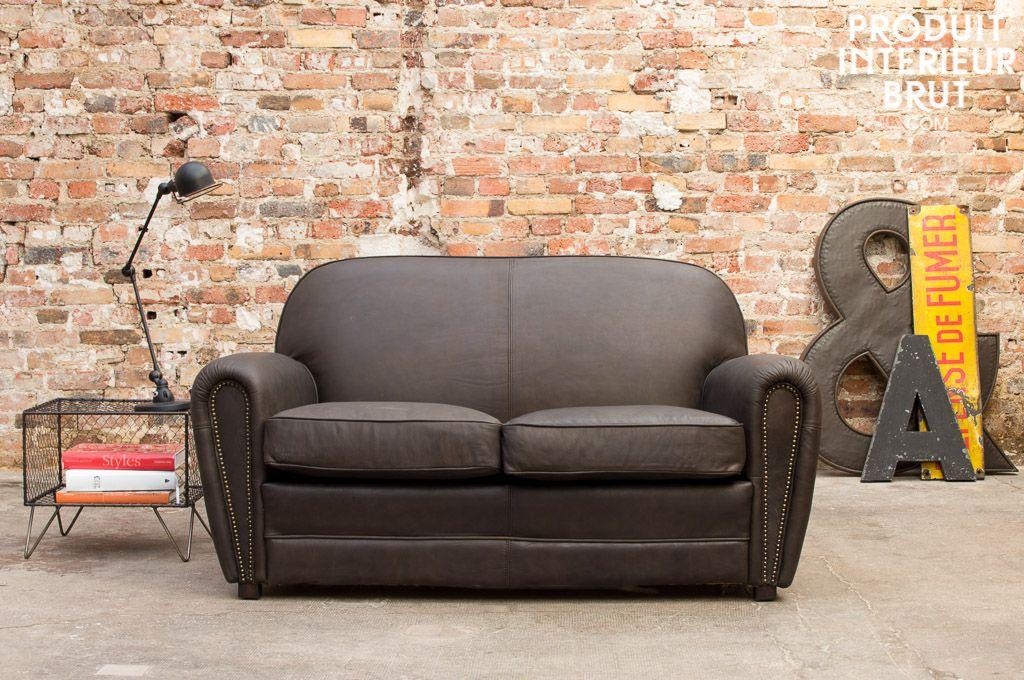 Canape Cigar Club Brun Scandinavian Sofas Furniture Luxury