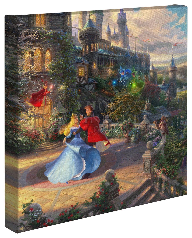 Sleeping Beauty Dancing in the Enchanted Light 14″ x 14
