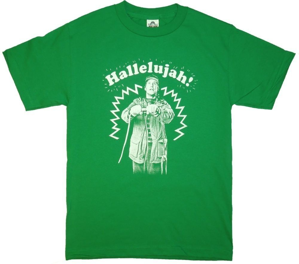 national lampoons christmas vacation hallelujah t shirt funny clark griswold