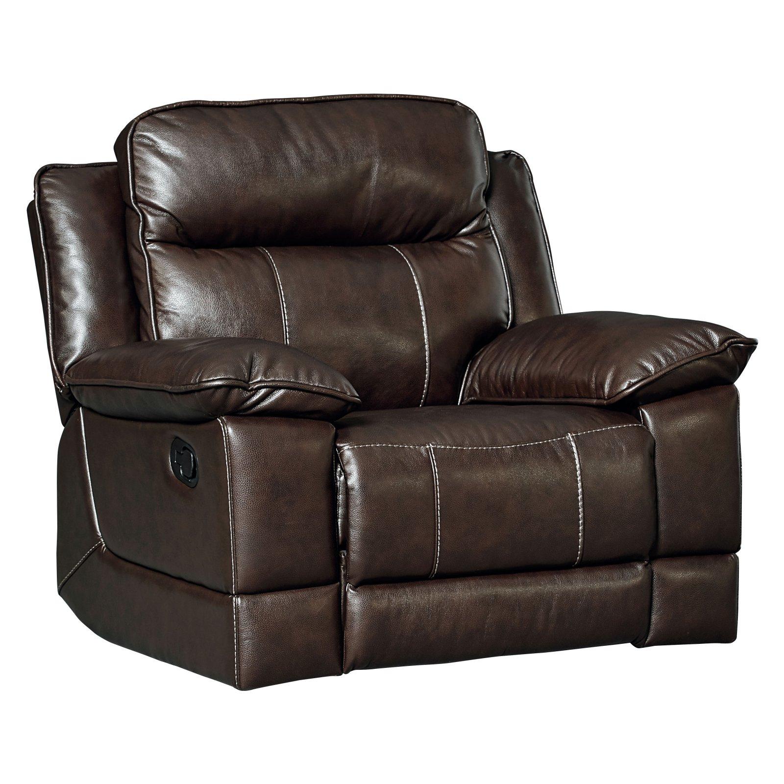 Standard Furniture Sequoia Manual Rocker Recliner In Leather