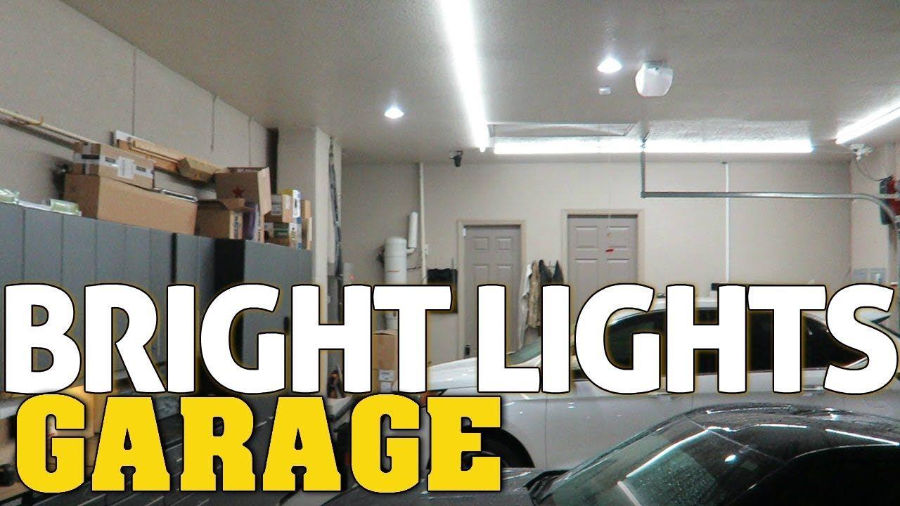 Super Bright Led Garage Workshop Lighting Best Garage