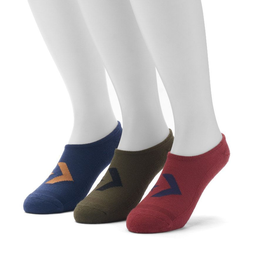 3c9d84b365d3 Men s Converse 3-pack Chevron Low-Cut Socks