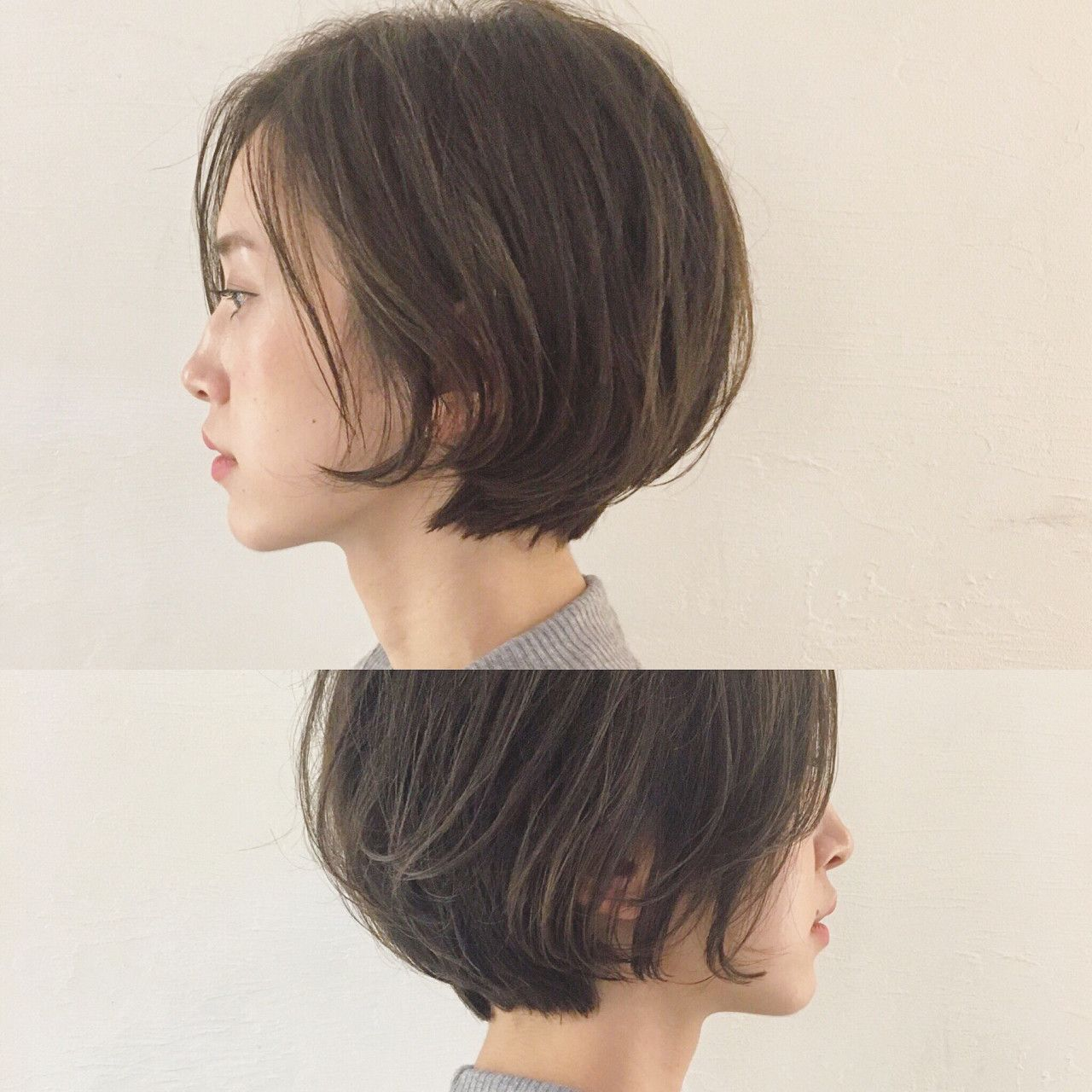 大人っぽさを手に入れるなら 前髪なしショートが色っぽい Hair ヘアスタイル ヘアカット ボブ