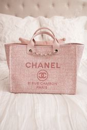 WHATS IN MY BAG  Chanel Deauville Tote Bag Review  Lace  Lashes WHATS IN MY BAG  Chanel Deauville Tote Bag Review  This image has get 6 repins Author Mel B WHATS IN MY BA...