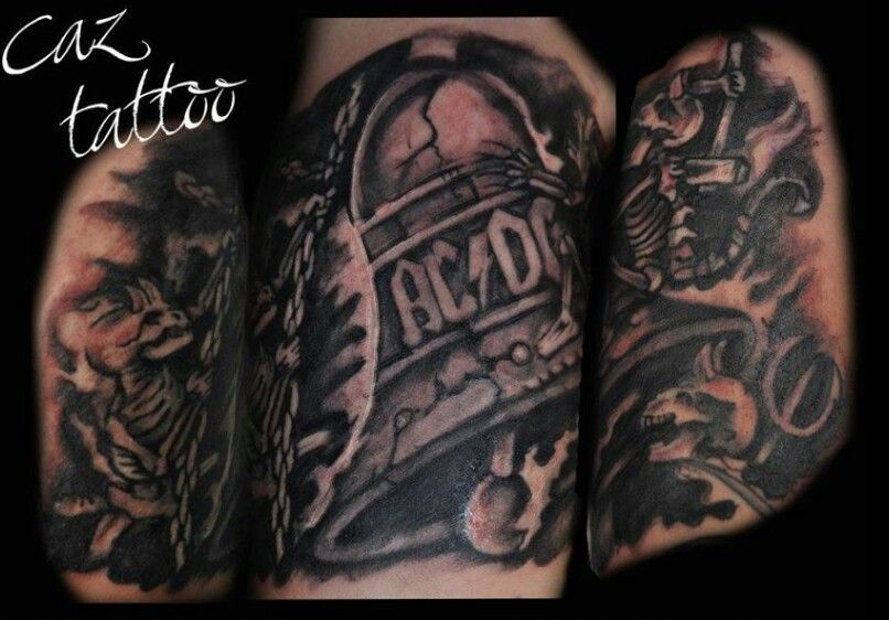 Acdc Tattoo For Tom By Caz Portsmouthink Co Uk Acdc Tattoo